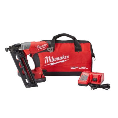 Milwaukee 2742-21CT M18 FUEL 16ga Angled Finish Nailer