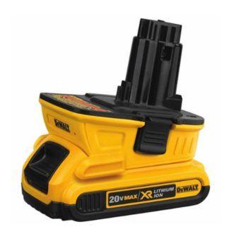 DeWalt DCA1820 20V Battery Adapter for 18V Tools 3