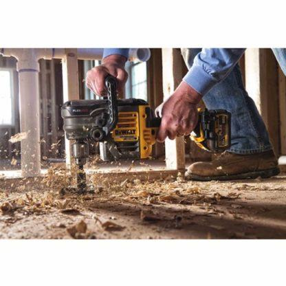 DeWalt DCD460T1 FlexVolt 60V Max VSR Stud & Joist Drill Kit in Use 1