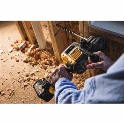 DeWalt DCD460T1 FlexVolt 60V Max VSR Stud & Joist Drill Kit in Use 2