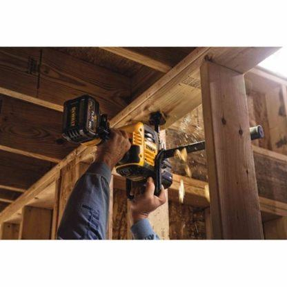 DeWalt DCD460T1 FlexVolt 60V Max VSR Stud & Joist Drill Kit in Use 3