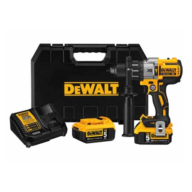 DeWalt DCD996P2 20V Max XR Brushless 3-Speed Hammer Drill Kit