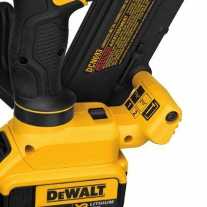 DeWalt DCN693M1 20V MAX Metal Connector Nailer Kit 5