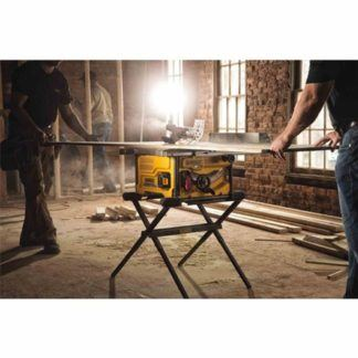DeWalt DCS7485T1 FlexVolt 60V Max Table Saw Kit In Use 1