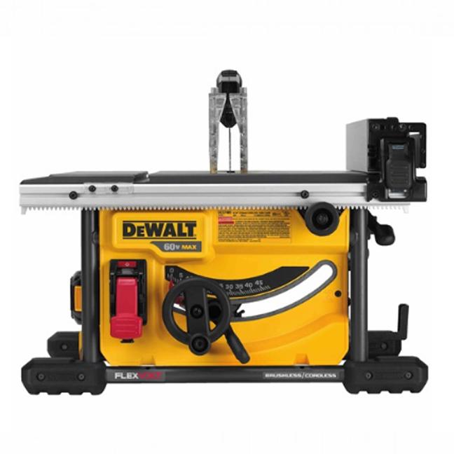 """DeWalt DCS7485T1 FlexVolt 60V Max 8-1/4"""" Table Saw Kit"""