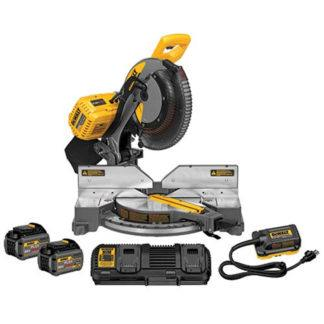 DeWalt DHS716AT2 FlexVolt 120V Max Double Bevel Compound Mitre Saw Kit