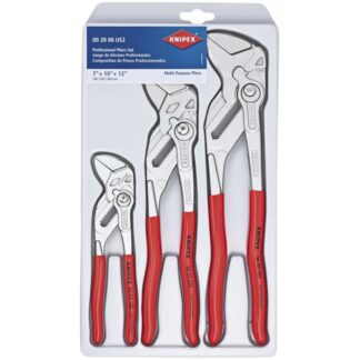 Knipex 002006US2 3-Piece Pliers Wrench Set