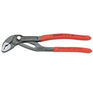 "Knipex 8701180SBA 7.25"" Cobra High-Tech Water Pump Pliers"