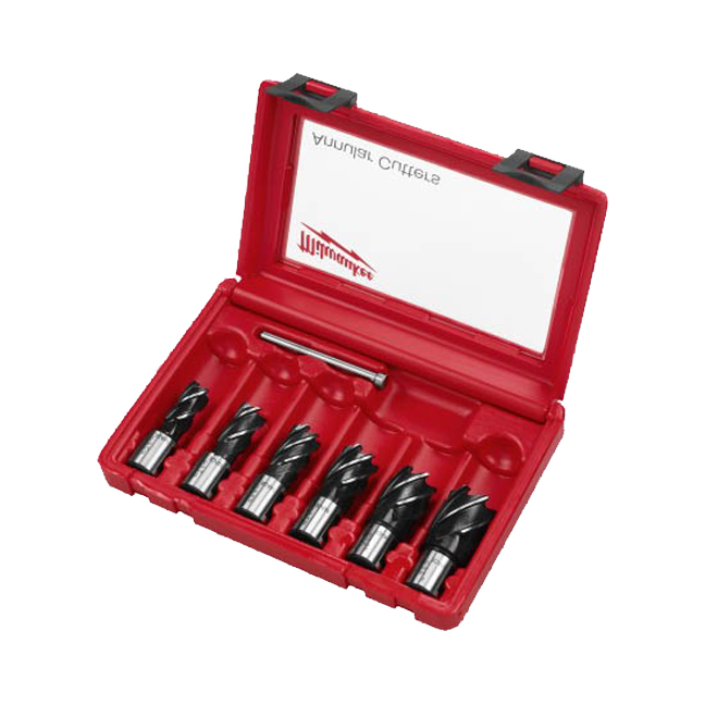 Milwaukee 49-22-8400 6PC Annular Cutter Set