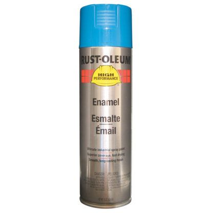 Rust-Oleum V2124838 Enamel Spray Paint - Safety Blue