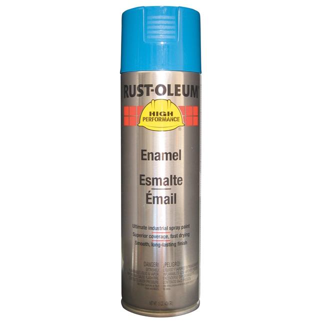 Rust-Oleum V2124838 Enamel Spray Paint - Safety Blue