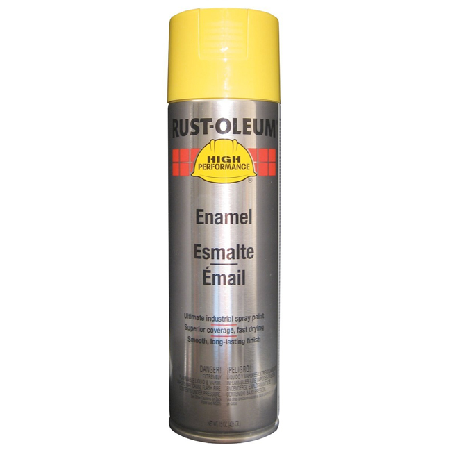 Rust-Oleum V2143838 Enamel Spray Paint - Safety Yellow