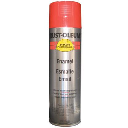 Rust-Oleum V2163838 Enamel Spray Paint - Safety Red