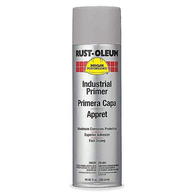 Rust-Oleum V2182838 Enamel Spray Paint - Grey Primer