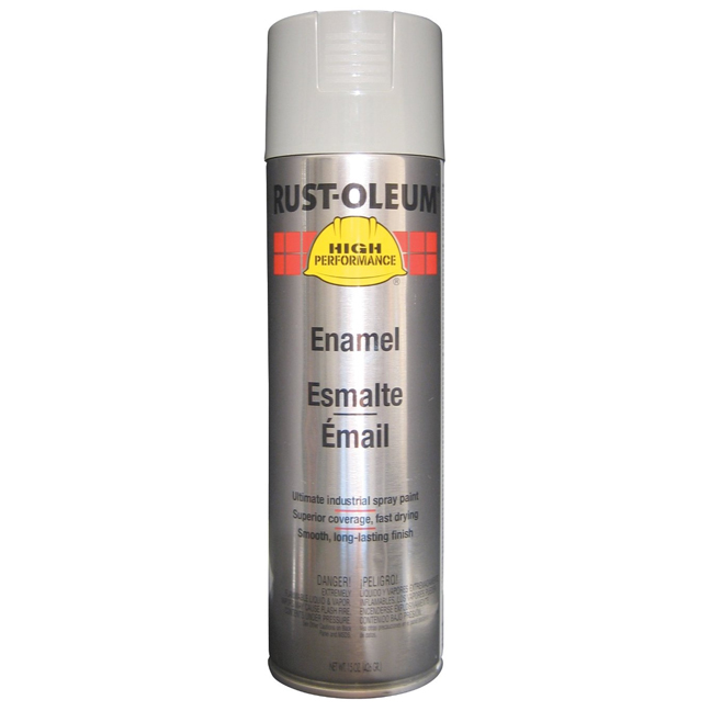 Rust-Oleum V2183838 Enamel Spray Paint - Light Machine Grey
