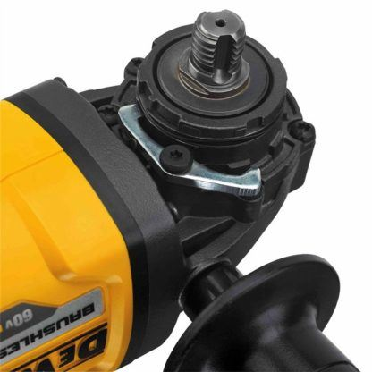 DeWalt DCG414T1 FlexVolt 60V Max Grinder Kit Close Up 2