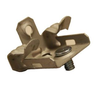 M24S Hammer-On Flange Clip Bottom Mount