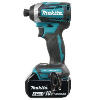"Makita DTD154RTE 18V Brushless 1/4"" Impact Driver"