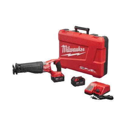 Milwaukee 2721-22 M18 FUEL SAWZALL Reciprocating Saw with ONE-KEY Kit