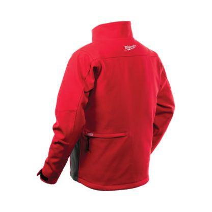 Milwaukee 201R-20 M12 Heated Jacket Red Back.