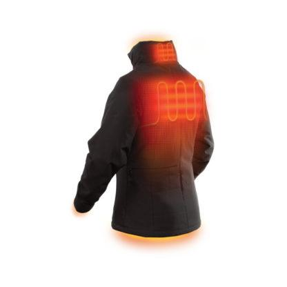 Milwaukee 231B-21 M12 Heated Women's Jacket Black Back