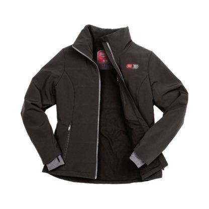 Milwaukee 231B-21 M12 Heated Women's Jacket Black open