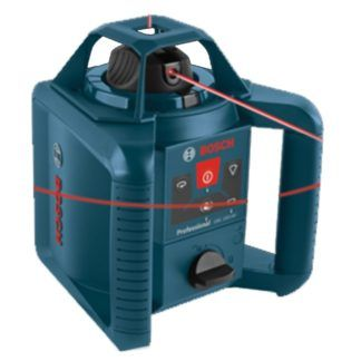 Bosch GRL 245 HVCK Self-Leveling Rotary Laser Kit