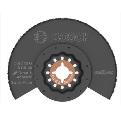 "Bosch OSL312LG 3-1/2"" Starlock Carbide Grit Grout Blade"