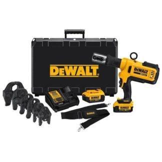 DeWalt DCE200M2K 20V Max Copper Pipe Crimping Tool Kit