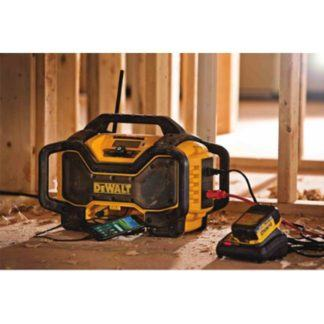 DeWalt DCR025 Jobsite Bluetooth Radio Charger 2