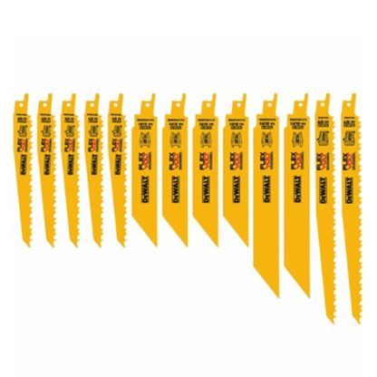 DeWalt DWAFV413SET 13pc Reciprocating Saw Blade Set