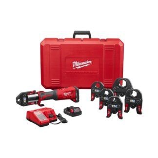 "Milwaukee 2773-22 M18 FORCE LOGIC Press Tool Kit with 1/2""-2"" Jaws"