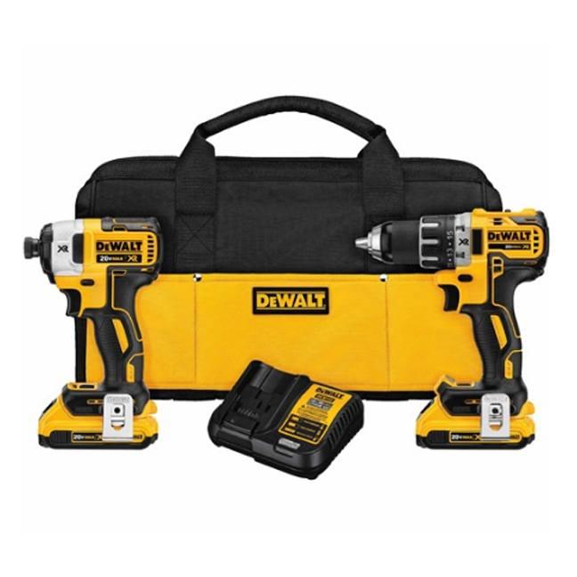 Dewalt Dck283d2 20v Max Xr 2 Tool Combo Kit Bc Fasteners