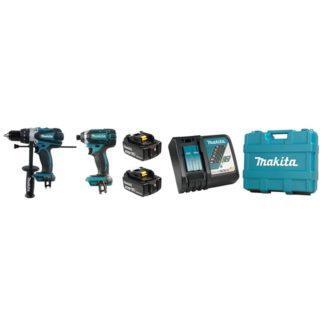 Makita DLX2005T 18V Hammer Drill & Impact Driver Combo Kit
