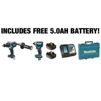 Makita DLX2176T 18V Brushless Hammer Drill & Impact Driver Combo Kit