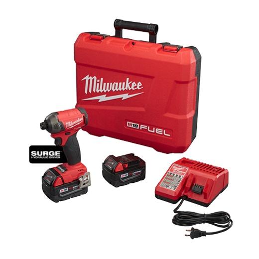 "Milwaukee 2760-22 M18 FUEL SURGE 1/4"" Hex Hydraulic Driver Kit"