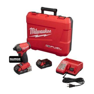"Milwaukee 2760-22CT M18 FUEL SURGE 1/4"" Hex Hydraulic Driver Kit"