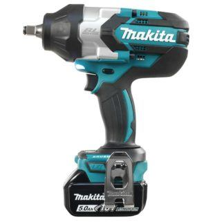 "Makita DTW1002RTE 18V 1/2"" Brushless High Torque Impact Wrench"