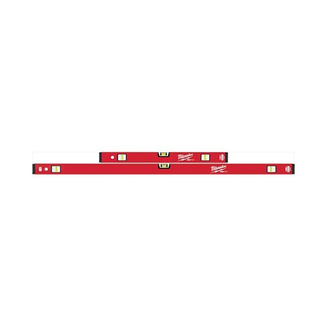 "Milwaukee MLCMS48 24""/48"" REDSTICK Compact Box Level Set"