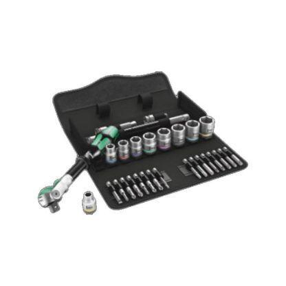 "Wera 004049 8100 SB 9 Zyklop Speed Ratchet Set 3/8"" Drive"