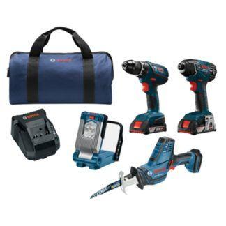Bosch CLPK496A-181 18V 4-Tool Combo Kit
