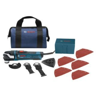 Bosch GOP40-30B 30pc StarlockPlus Oscillating Multi-Tool Kit