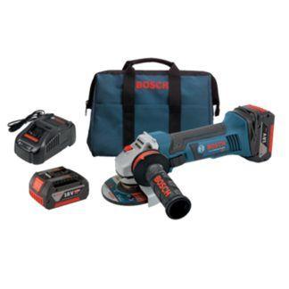 "Bosch GWS18V-45-01 18V 4-1/2"" Angle Grinder Kit"
