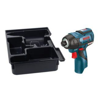 Bosch PS42BN 12V MAX EC Brushless Impact Driver with Exact-Fit Insert Tray