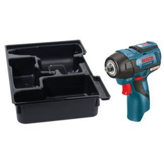"Bosch PS82BN 12V MAX EC Brushless 3/8"" Impact Wrench with Exact-Fit Insert Tray"