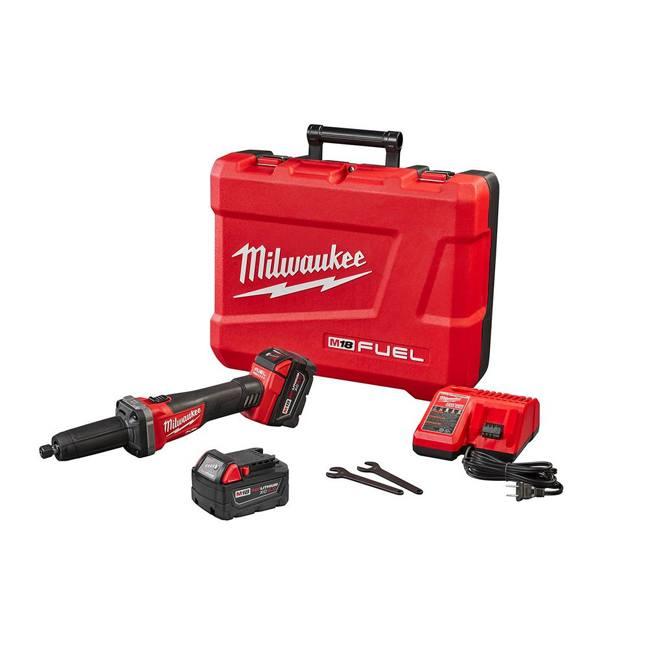 """Milwaukee 2784-22 M18 FUEL 1/4"""" Die Grinder Kit"""