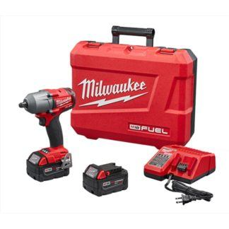 "Milwaukee 2860-22 M18 FUEL 1/2"" Mid-Torque Impact Wrench Kit"