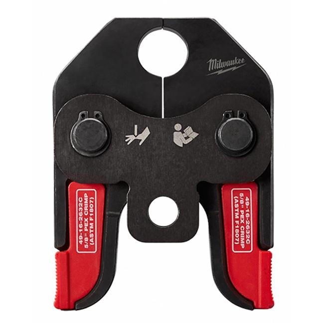 """Milwaukee 49-16-2632C M18 5/8"""" PEX Crimp Jaw for M18 Short Throw Press Tool"""