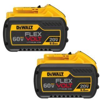 DeWalt DCB609-2 20V/60V Max Flexvolt 9.0Ah Battery 2-Pack