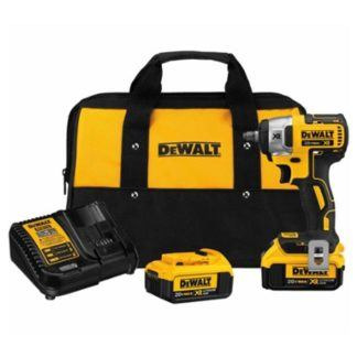 DeWalt DCF890M2 20V Max XR Brushless Compact Impact Wrench Kit 2